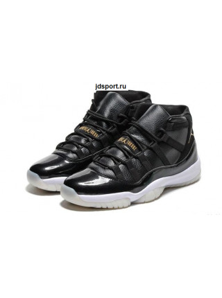 "Air Jordan 11 Retro ""72 10"" (black/white/gold)"