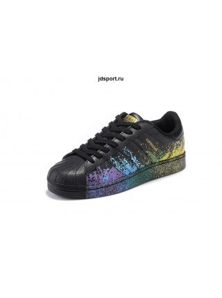 "Adidas Superstar ""Pride"" (Black)"
