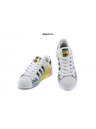 "Adidas Superstar ""Pride"" (White/Black)"