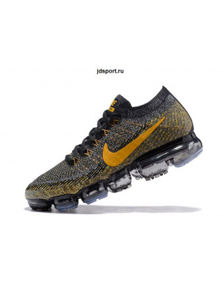Nike Air VaporMax Flyknit (Black/Anthracite/Deep Grey/Bronze)