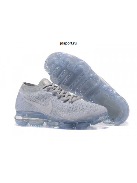 Nike Air VaporMax Flyknit (Pure Platinum/White Wolf​)