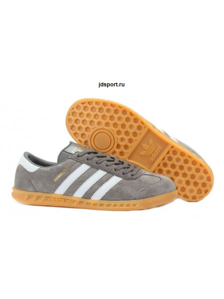 Adidas Hamburg (Grey/White)