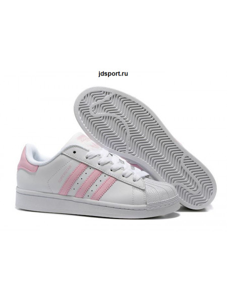 Adidas Superstar (White/Pink)