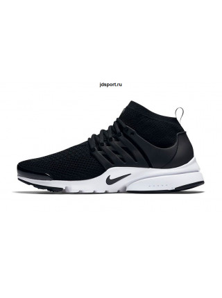 Nike Air Presto Flyknit Ultra (Black/White)