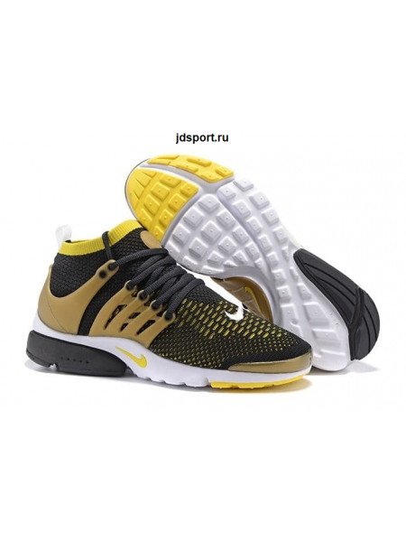Nike Air Presto Flyknit Ultra (Black/Yellow Streak)