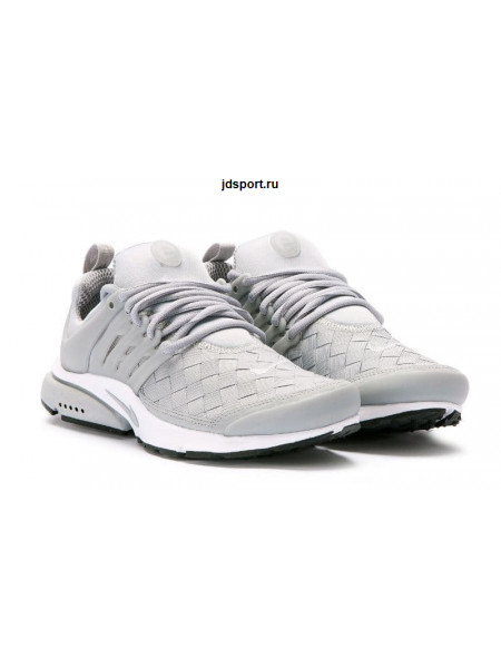 Nike Air Presto SE Woven (Wolf Grey/White)