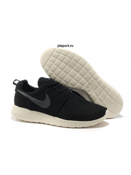 Nike Roshe Run (Black/Silver/White)
