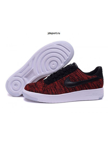 Nike Air Force 1 Ultra Flyknit Low (Red)