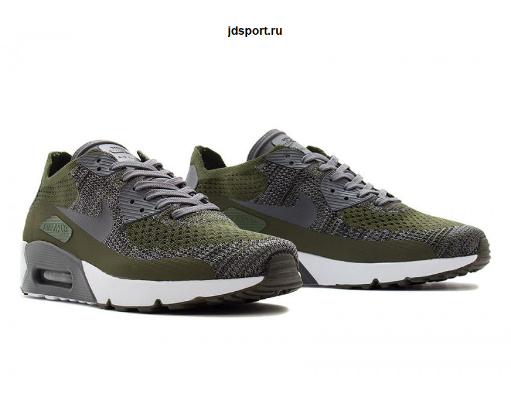 on sale e7725 ceeb2 Nike Air Max 90 Ultra 2.0 Flyknit (Green)