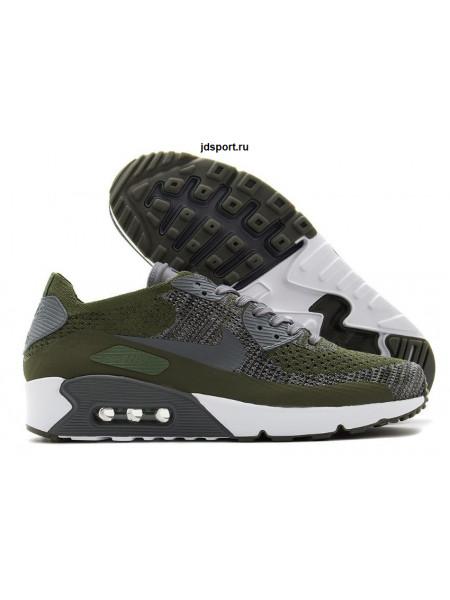 Nike Air Max 90 Ultra 2.0 Flyknit (Green)