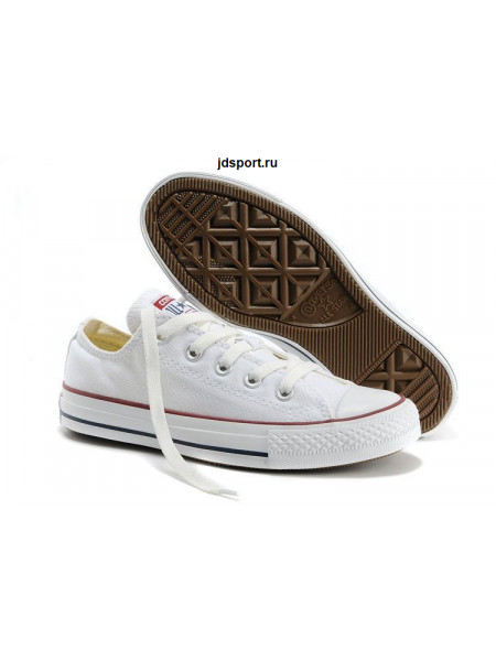 Converse Chuck Taylor All Star Low (White)