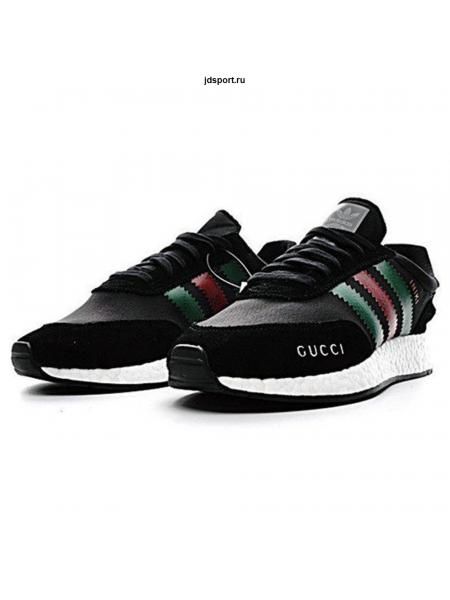 Adidas Iniki Runner Boost  x Cucci Black