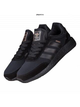 Adidas Iniki Runner Boost  ALL Black