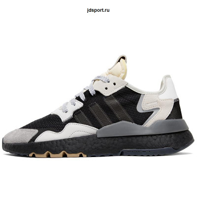 Кроссовки Adidas Nite Jogger Black/Grey/White