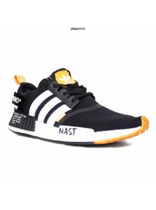 Adidas Off-white x NMD r1 pk primeknit black/white