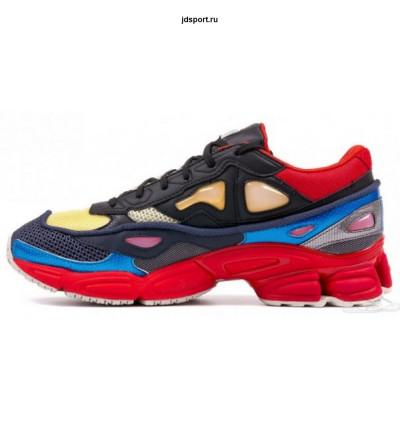 Adidas x Raf-Simons Ozweego 2 (Black/red/pearl/grey)