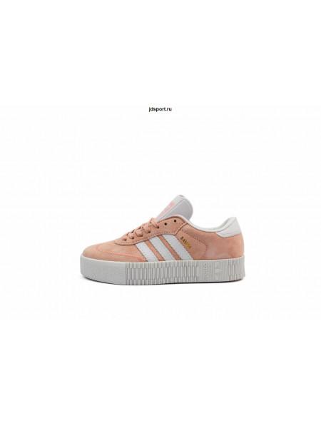 Adidas Samba (Pink/White)