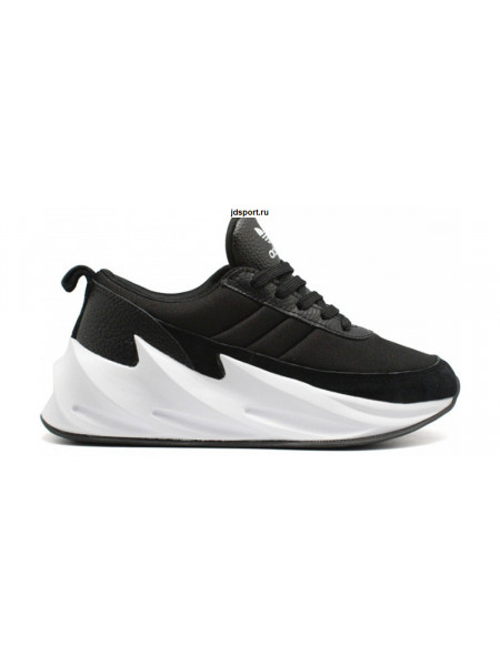 Кроссовки Adidas Sharks Black/White