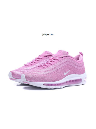 "Nike Air Max 97 LX ""Swarovski"" Pink White For Sale"