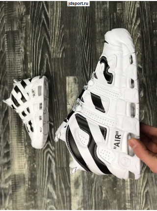 Off-White x Nike Air More Uptempo White/White-Black