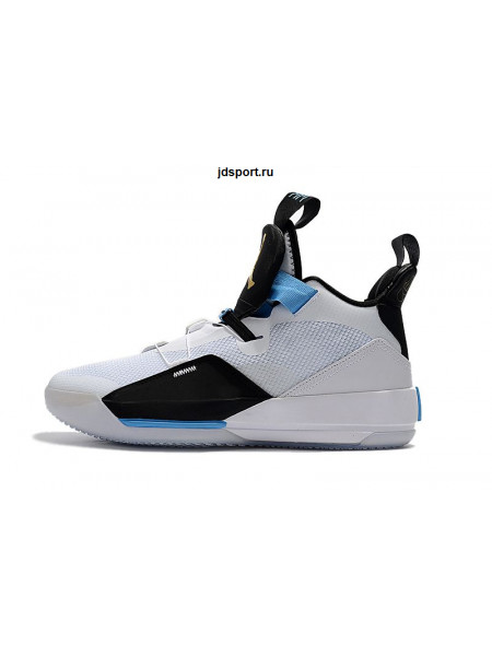 Air Jordan 33 White/Black/Blue