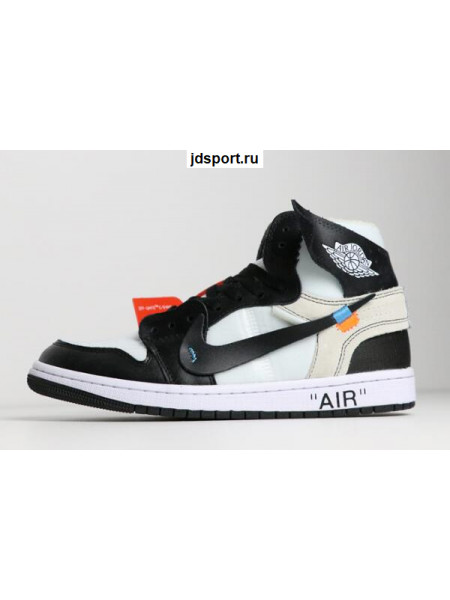 Air Jordan 1 x OFF-WHITE NRG Black/White