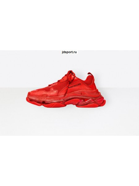 Balenciaga Triple S Red