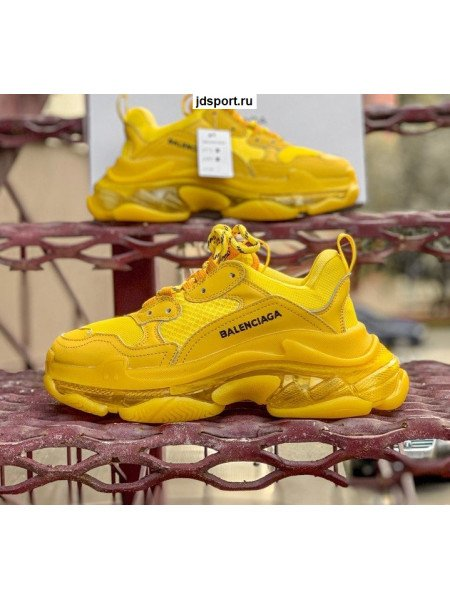 Balenciaga Triple S Yellow
