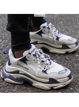 Balenciaga Triple S Trainer (Purple/white)