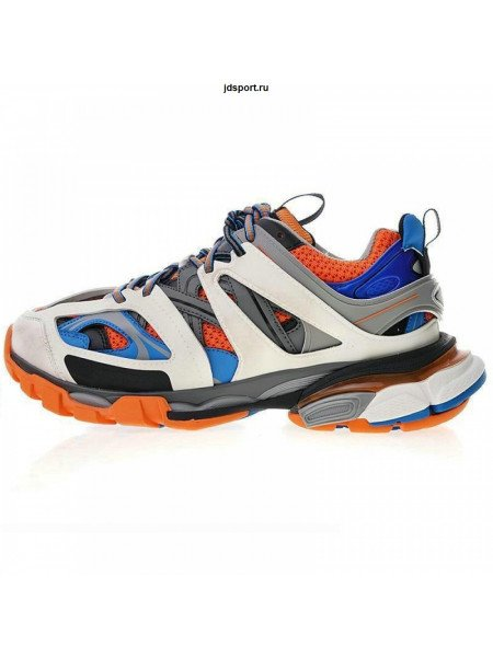 Balenciaga Track Trainers (Blue/Orange)