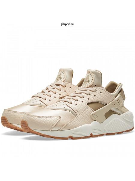 Nike W Air Huarache Run Premium Oatmeal, Khaki & Sai