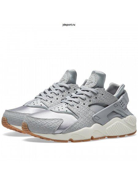 Nike Air Huarache PRM Grey серые