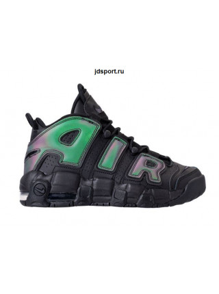Nike Air More Uptempo GS Reflective Black