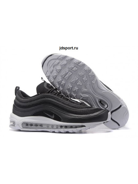 Nike Air Max 97 (Black/White/Metallic Silver)