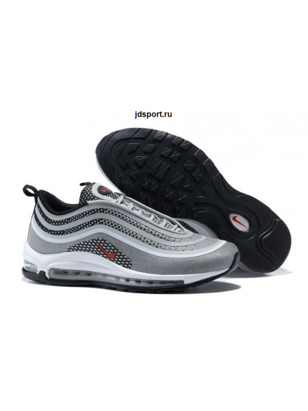 Nike Air Max 97 (Silver/Red/Black/White)