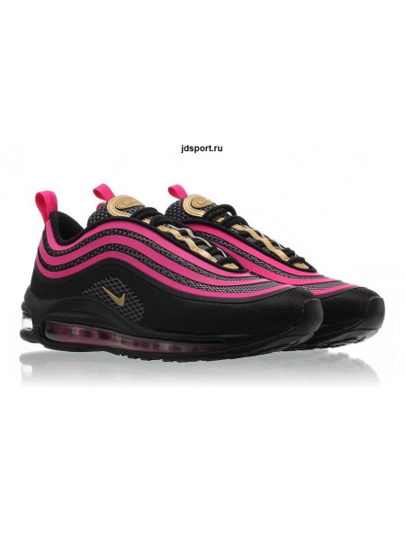 Nike Air Max 97 Ultra (Black/Pink/Gold)