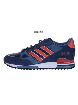Adidas ZX 750 (Blue Royal/Red/White)
