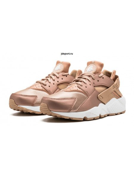 Nike Air Huarache Run Premium (Rose Gold)