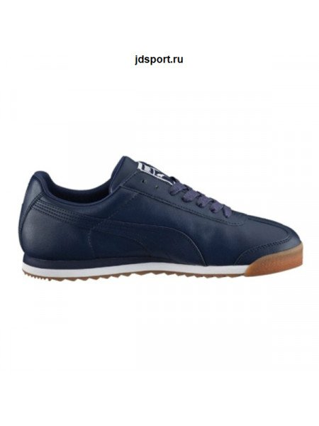 Puma Roma Dark Blue Leather (41-45)