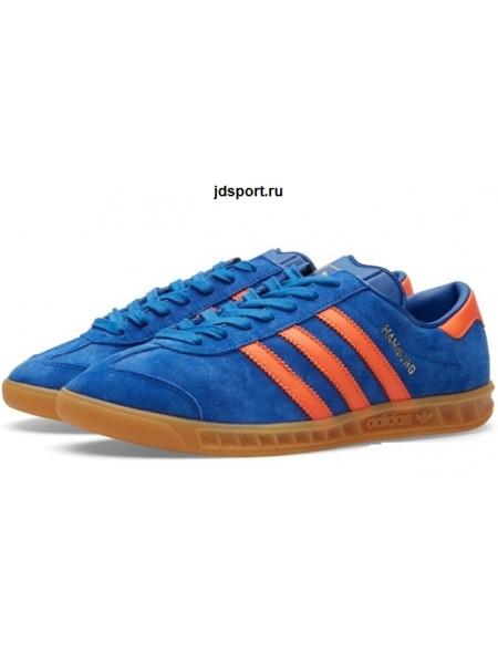 Adidas Hamburg Dublin Collegiate Royal & Orange (40-45EUR)