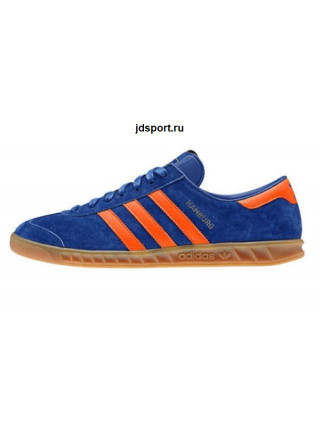 Adidas Hamburg Dublin Collegiate Royal & Orange (40-45EUR)