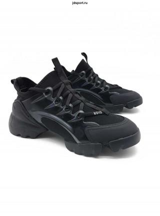 Dior D-Connect Sneaker  Black Neoprene