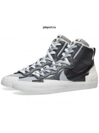 Sacai x Nike Blazer Mid Varsity Black White
