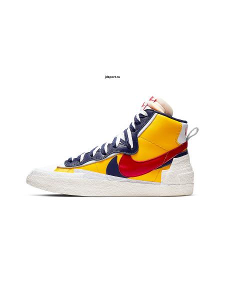 Sacai x Nike Blazer Mid Varsity Yellow Red