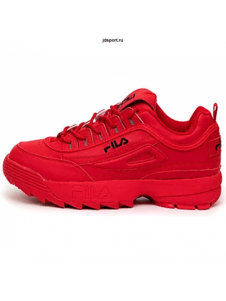 Fila Disruptor ll All Red (36-40)