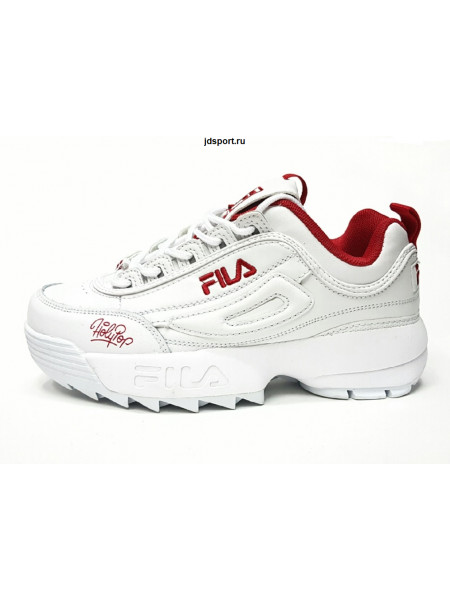Fila disruptor 2 holypop White/Red