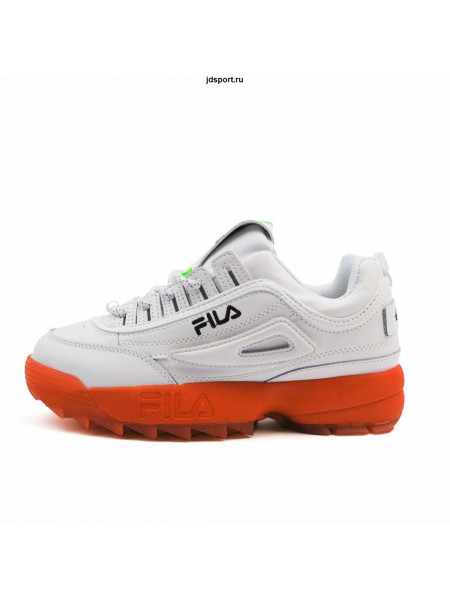 Fila Disruptor II X White Red
