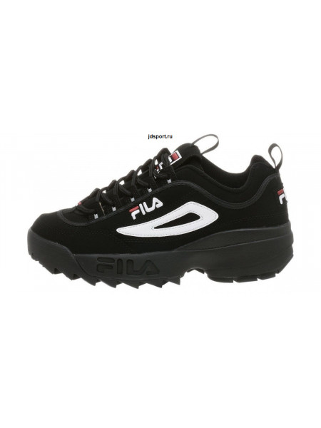 Fila Disruptor 2 Black замш (36-40)