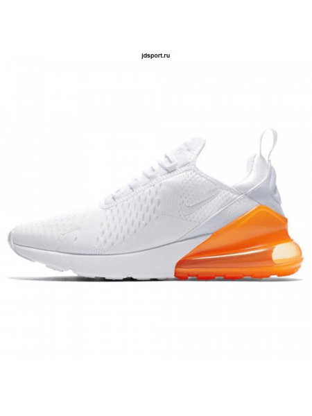 Nike Air Max 270 White/Orange ( 36-40)