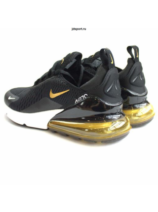 Nike Air Max 270 Black/Gold